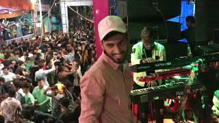 CROWD ENJOYING  WITH LOVELY MUSICAL GROUP   DAY  5 NAVRATRI RASS GARBA AT MHATREWADI 2019.9930220551