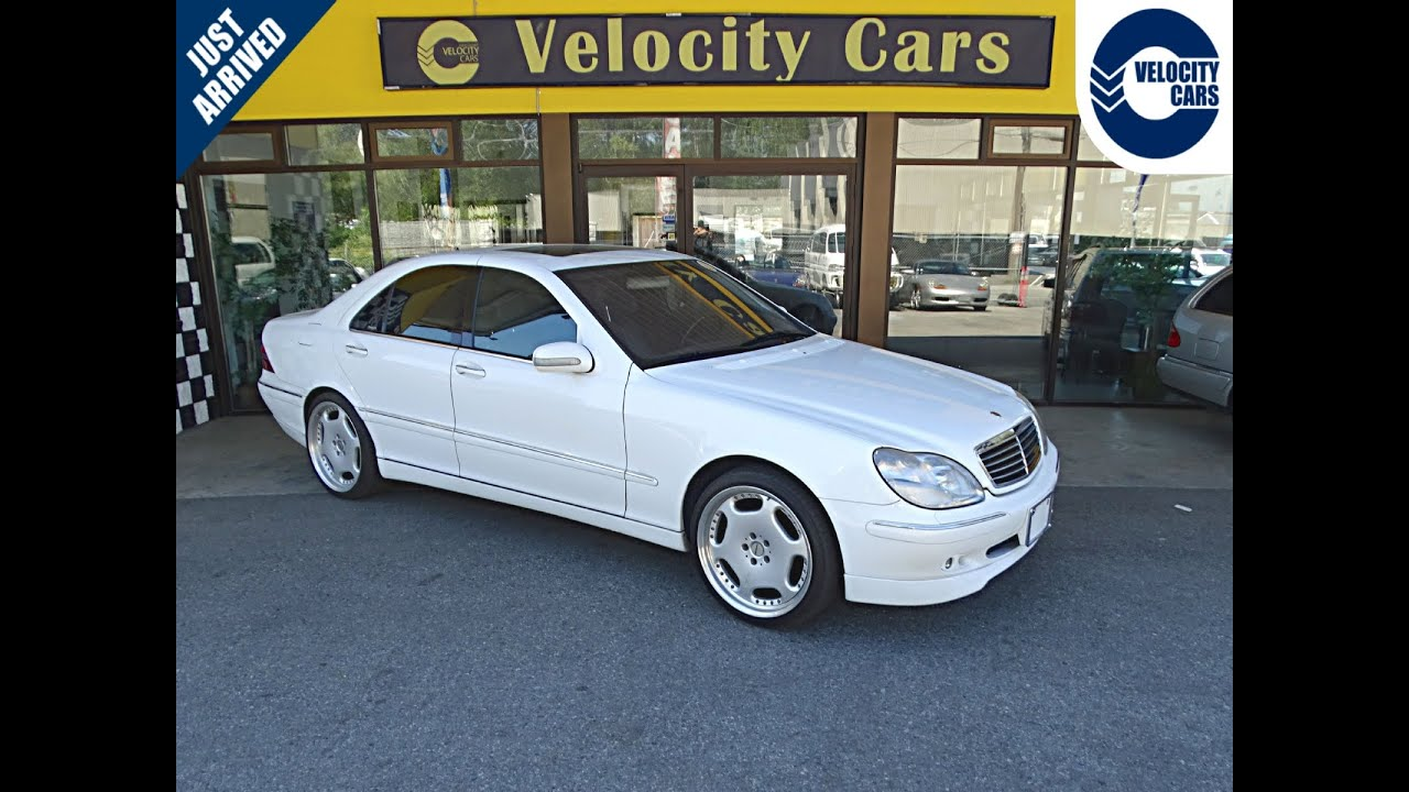 1999 mercedes benz s500 s class 98k 39 s carlsson edition for sale in vancouver bc canada youtube. Black Bedroom Furniture Sets. Home Design Ideas