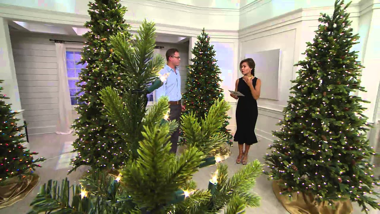 bethlehem lighting. Bethlehem Lights 9\u0027 Noble Spruce Christmas Tree W/Instant Power With Lisa Robertson - YouTube Lighting