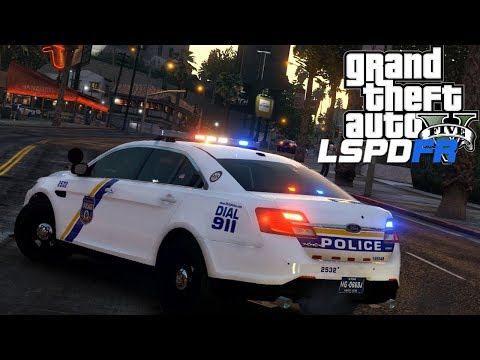GTA 5 - LSPDFR LIVE! - Ep 147 - Philadelphia Police Department!