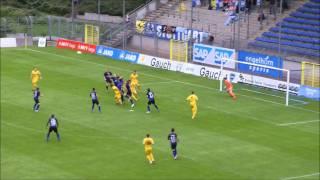 SV Waldhof Mannheim 07 vs. Stuttgarter Kickers  Spielzusammenfassung