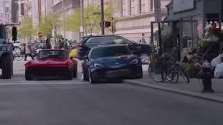 افضل مقطع لفيلم fast and furious 8 ( لحظه محاصرة فان ديزل من فريقه)