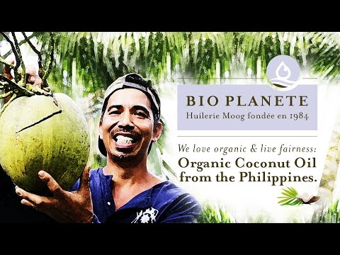 BIO PLANÈTE – Oil Mill Moog: Organic Coconut Oil from the Philippines