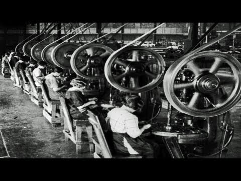 hd-stock-footage---story-of-asbestos-1921-reel-2,-asbestos-manufacturing-and-products