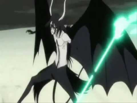 Bleach Hollow Ichigo vs Ulquiorra Second Release Form - YouTube