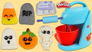 How to Make Cute Play Doh Halloween Cookies!
