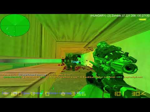 Cs1 6 HUNGARY 3 Zombie Server  Honor15-el 1 .rész (Adjad Neki!!!)