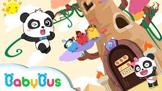 Baby Panda's Trapped in Number Maze Castle   Math Kingdom Adventure 2   BabyBus Cartoon