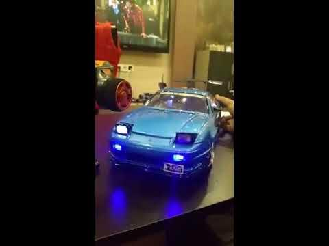 RC Nissan 180sx make light