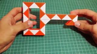 Фигуры из змейки Рубика:Ключ(#9)HD(Если хочешь чтобы я передал тебе привет в начале видео просто напиши это в коментарии:Funny Cube Games Подписка..., 2016-10-14T18:00:05.000Z)