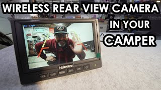 HOW TO FIT A 'WIRELESS' REAR VIEW CAMERA TO YOUR CAMPERVAN, using the Haloview MC5111