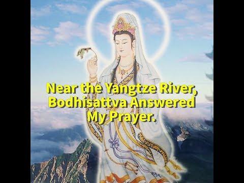 Near the Yangtze River, Bodhisattva Answered My Prayer.