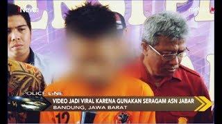 Polisi Tangkap Pria Pemeran Video Asusila PNS di Dalam Mobil - Police Line 21/09
