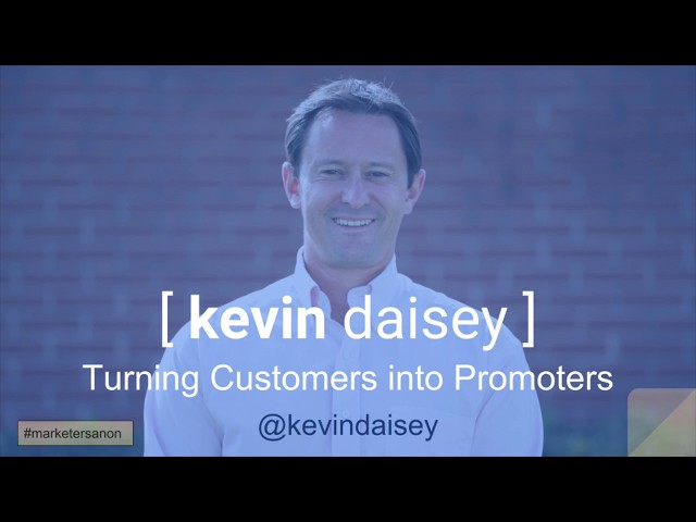 Turning Customers into Promoters - Kevin Daisey