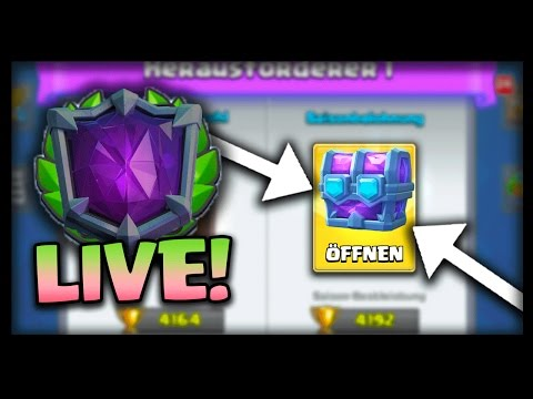 NEUE DRAFT CHEST ERSPIELEN mit DISEAX! | Chest Opening :) | Clash Royale deutsch