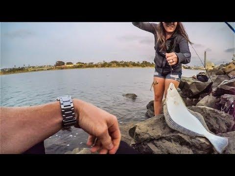 FISHING CALIFORNIA 🎣 CARLSBAD LAGOON 💯🔥