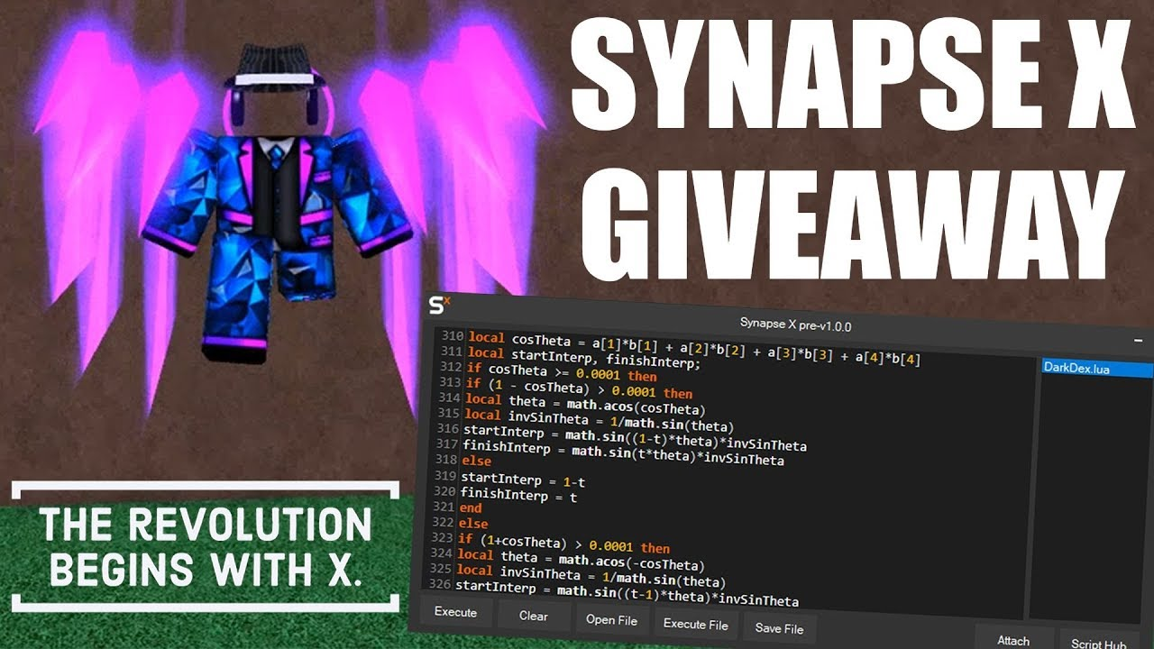Synapse X ROBLOX Exploit Showcase & Giveaway