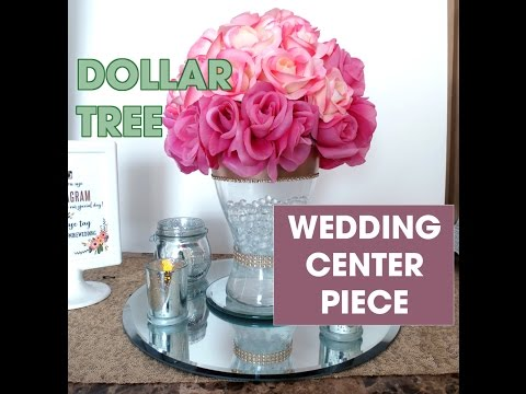 Diy Ikea And Dollar Tree Wedding Centerpiece 11 Youtube