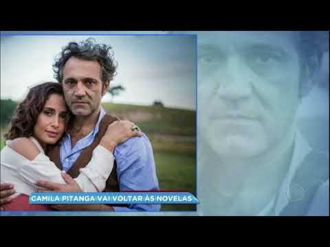 Hora da Venenosa: após afastamento pela morte de Domingos Montagner, Camila Pitanga voltará à TV