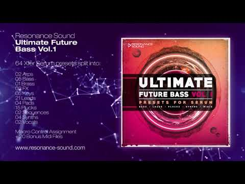 Ultimate Future Bass for Serum Vol 1 | Resonance Sound