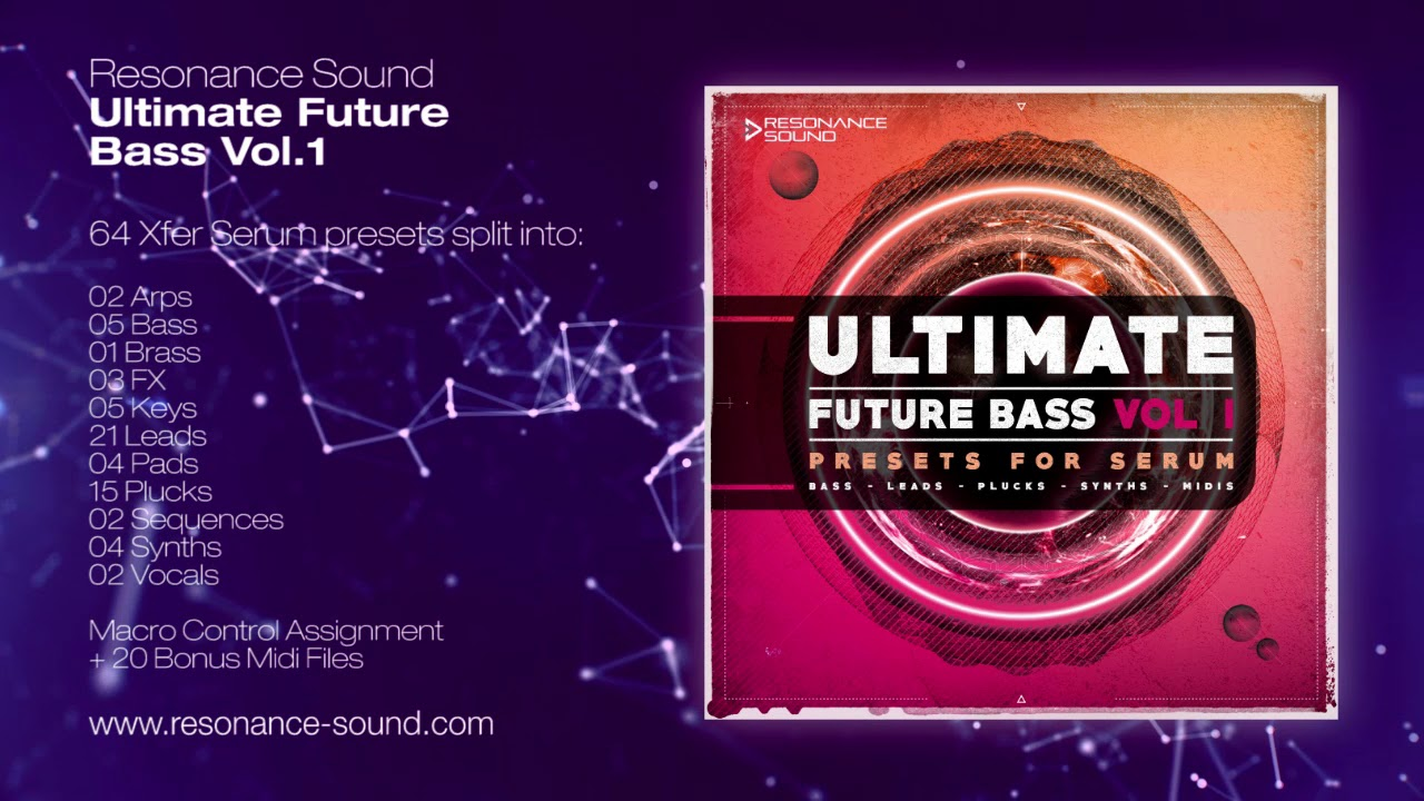 Ultimate Future Bass for Serum Vol 1
