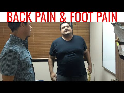 Back Pain, Leg Numbess, & Swollen Ankle all better in one Neck Adjustment