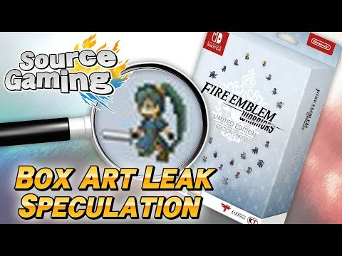 Fire Emblem Warriors Box Art Leak Speculation
