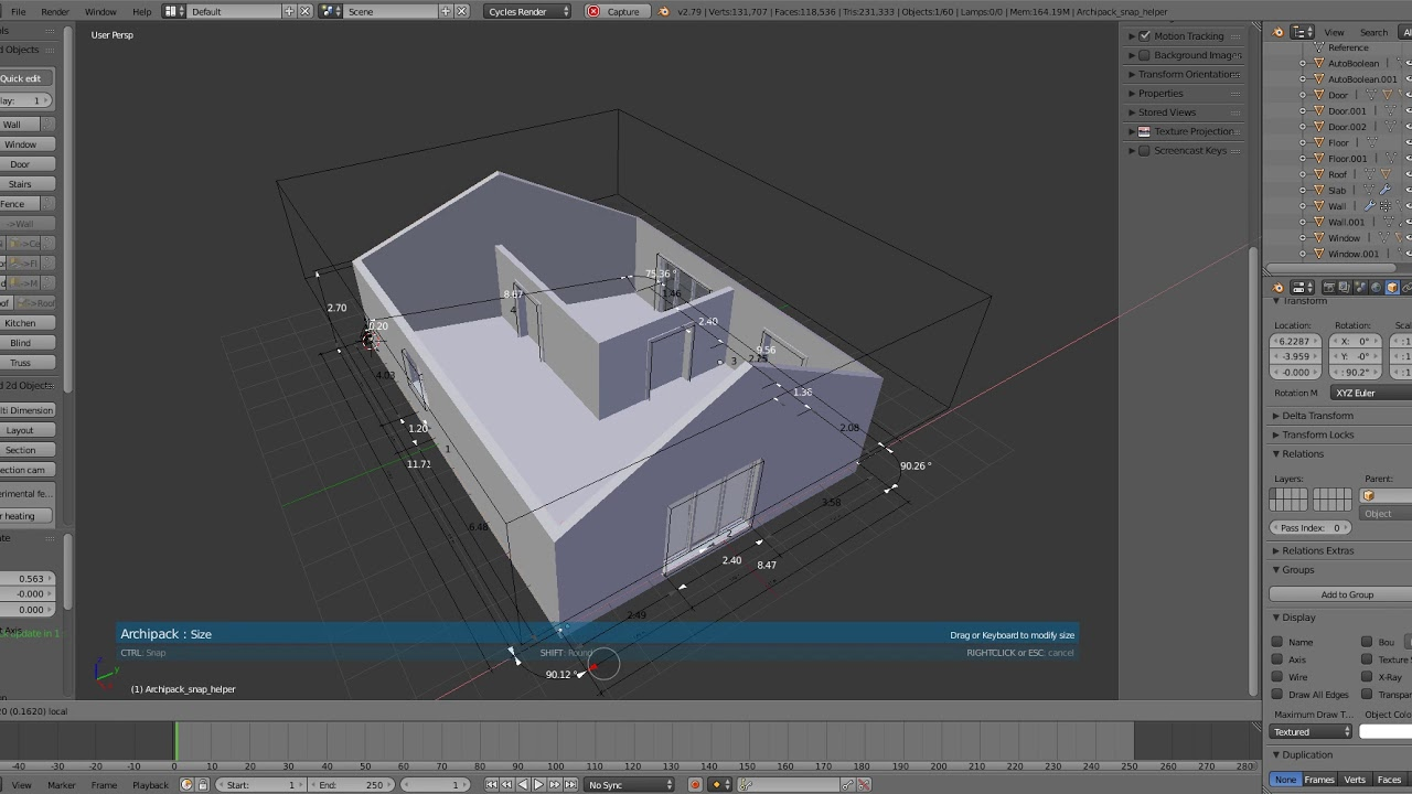 Archipack 1 4 preview - YouTube f5fa8fb4cd63b