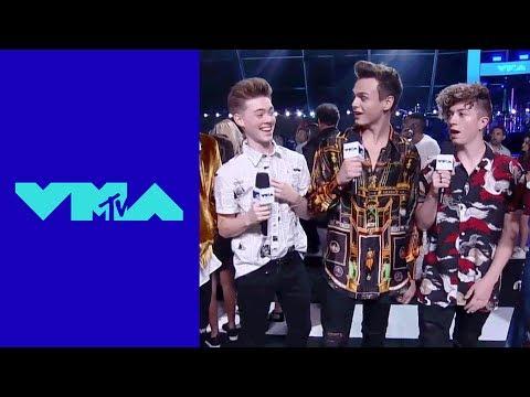 Why Don't We Perform a Red Carpet Acapella | 2017 VMA Pre-Show | MTV