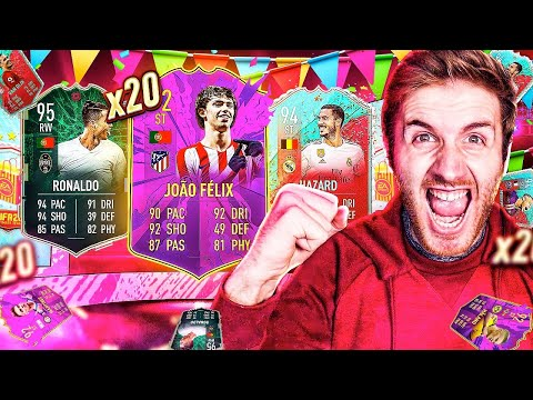 What do you get from 20 FUT Birthday Party Bag 3 Packs?