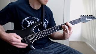 Obituary ~ Visions In My Head ( live version ) [ guitar cover ]