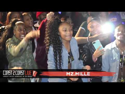 Mz.Mille Performs at Coast 2 Coast LIVE | Atlanta All Ages Edition 1/20/19 - 1st Place