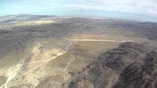 Approach and landing at Borrego Springs CA (L08)