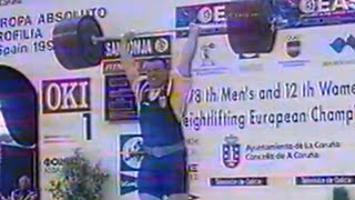 1999 European Weightlifting Championships, Men 105 kg \ Тяжелая Атлетика. Чемпионат Европы