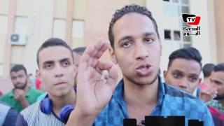 وقفة لطلاب إحدى معاهد التمريض الخاصة أمام محكمة الأسكندرية