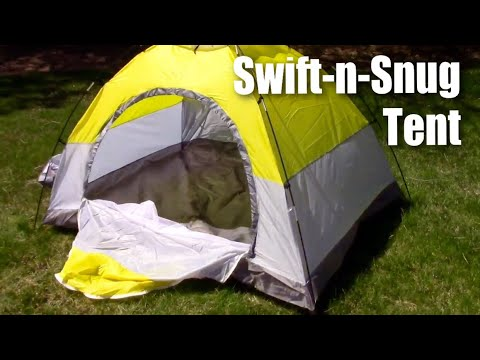 Swift-n-Snug 2 Person Camping Tent (setup and review)