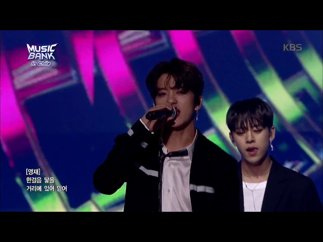 뮤직뱅크 Music Bank in chile Hands Up - B.A.P 20180411