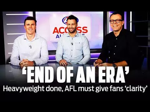 It's the end of an era for AFL heavyweight: Access All Areas | Round 19, 2018 | AFL