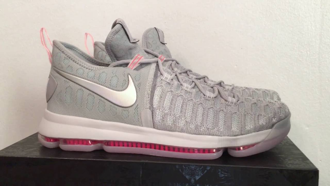 5a0e56088ddfb0 Nike Zoom KD 9 Pre Heat Kevin Durant Basketball Sneakers - YouTube