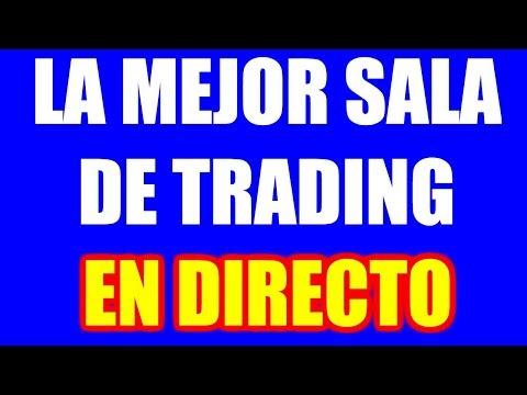 SALA De TRADING (GRATIS) En VIVO En TIEMPO REAL (SCALPING En 2020)
