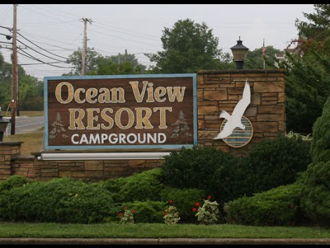 Ocean View Resort Campground - New Jersey Campgrounds