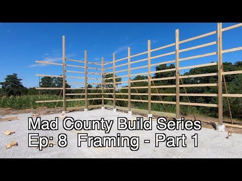 Framing a Pole Barn Home