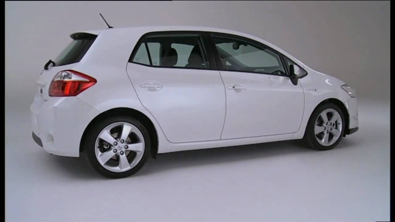 2010 toyota auris hsd full production version youtube. Black Bedroom Furniture Sets. Home Design Ideas