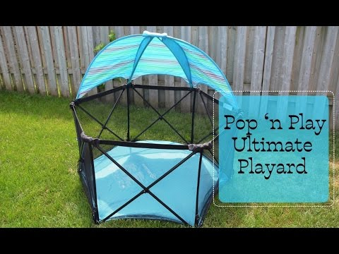 New! Summer Infant Pop 'n Play Ultimate Playard Review