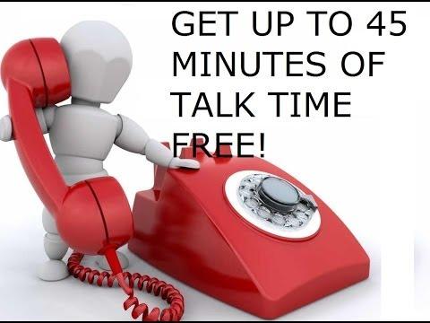 كيف تحصل على دقائق مجانية تصل الى 45 دقيقة للاتصال باى بلد في العالم من هاتفك الاندرويد أو الايفون