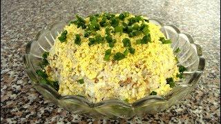 Салат со шпротами рецепт вкусно и просто
