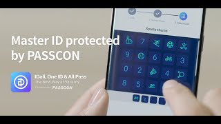 IDall password manager with PASSCON summary Int