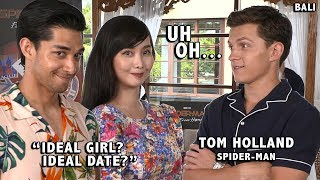 SPIDERMAN TOM HOLLAND DESCRIBES HIS IDEAL GIRL & DATE