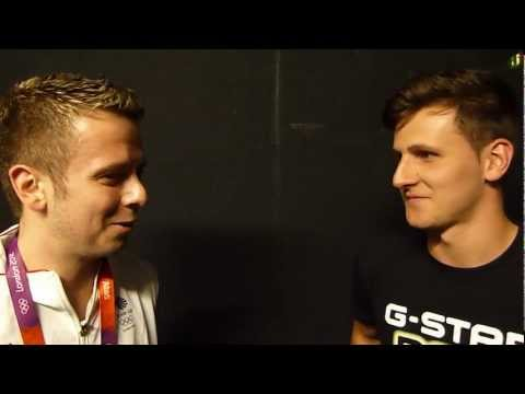 Andrew Baggaley Interview with AfterDark PingPong at London Olympics 1