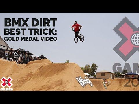 GOLD MEDAL VIDEO: BMX Dirt Best Trick | X Games 2021